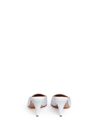 Back View - Click To Enlarge - Mansur Gavriel - Leather pump slippers