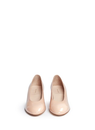 Front View - Click To Enlarge - Mansur Gavriel - Patent leather pumps