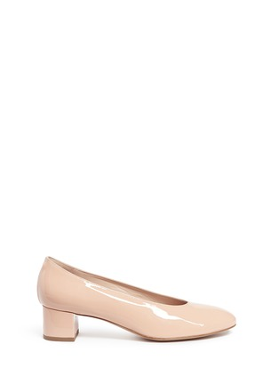 Main View - Click To Enlarge - Mansur Gavriel - Patent leather pumps
