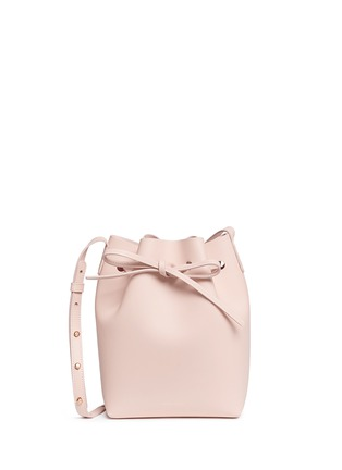 Main View - Click To Enlarge - Mansur Gavriel - 'Mini' leather bucket bag