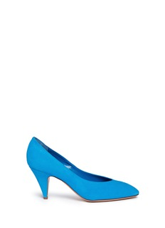 Mansur Gavriel Pointed toe suede pumps