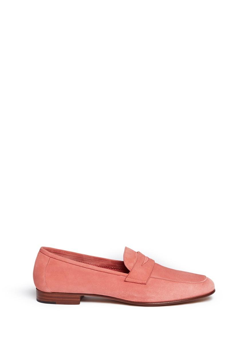 Suede loafers by Mansur Gavriel