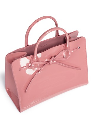 - Mansur Gavriel - 'Mini Sun' patent leather drawstring tote