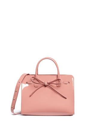 Main View - Click To Enlarge - Mansur Gavriel - 'Mini Sun' patent leather drawstring tote