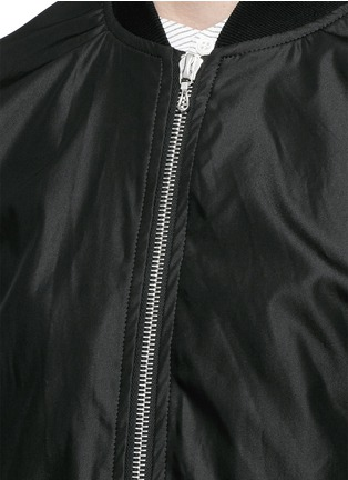 Detail View - Click To Enlarge - ATTACHMENT - 'MA-1' blouson jacket