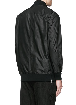 Back View - Click To Enlarge - ATTACHMENT - 'MA-1' blouson jacket