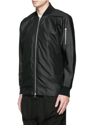 Front View - Click To Enlarge - ATTACHMENT - 'MA-1' blouson jacket