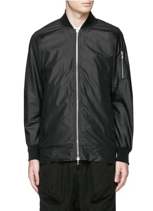 Main View - Click To Enlarge - ATTACHMENT - 'MA-1' blouson jacket