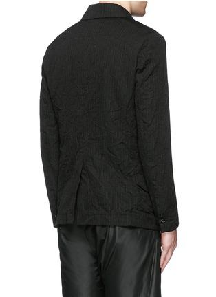 背面 - 点击放大 - ATTACHMENT - 条纹混棉西服外套