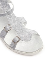 'Gianna Gladiator' buckled kids sandals