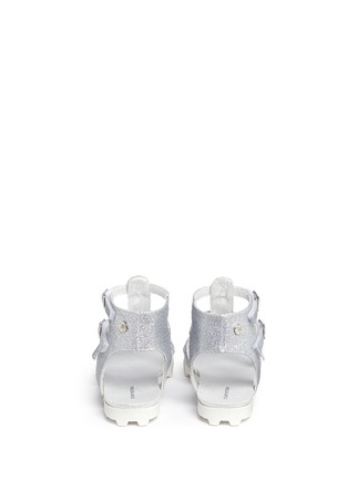 Back View - Click To Enlarge - Stuart Weitzman - 'Gianna Gladiator' buckled kids sandals