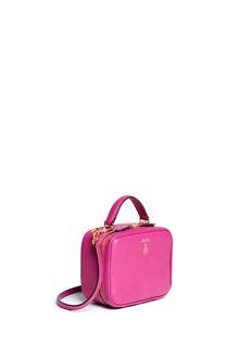 MARK CROSS'Baby Laura' leather box bag