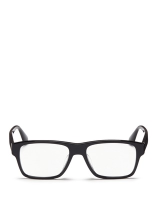 Main View - Click To Enlarge - Prada - Square acetate optical glasses