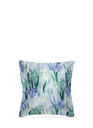 Main View - Click To Enlarge - Frette - Blue Iris Euro sham