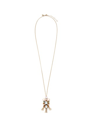 Main View - Click To Enlarge - J CREW - Dragonfly pendant necklace