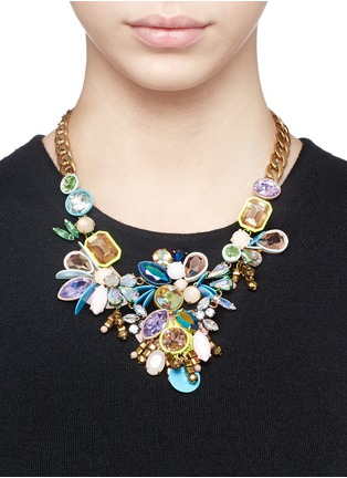 Figure View - Click To Enlarge - J.CREW - Crystal statement necklace