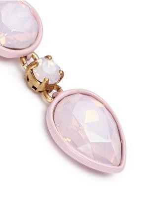 Detail View - Click To Enlarge - J.CREW - Brûlée crystal earrings