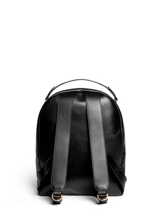 Back View - Click To Enlarge - Sophie Hulme - Round leather backpack