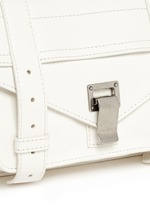'PS1' tiny leather satchel