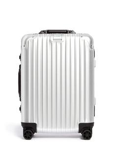 RIMOWATopas Stealth Special Cabin Multiwheel® IATA (Two-Tone:Black & Silver, 32-litre)