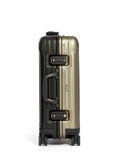RIMOWATopas Stealth Special Cabin Multiwheel® IATA (Two-Tone:Black & Titanium, 32-litre)