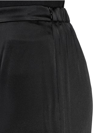 Detail View - Click To Enlarge - ST. JOHN - Liquid satin wide leg pants