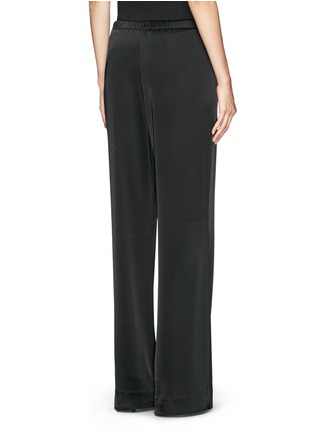Back View - Click To Enlarge - ST. JOHN - Liquid satin wide leg pants