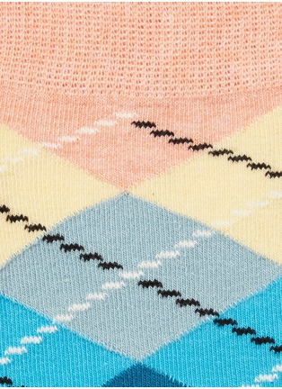 Detail View - Click To Enlarge - Happy Socks - Argyle socks