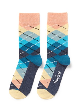 Main View - Click To Enlarge - Happy Socks - Argyle socks