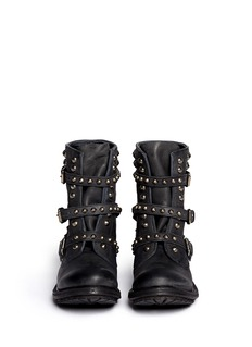 ASH 'Reese' stud leather boots