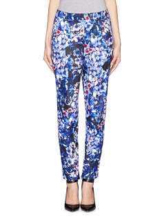 J. CREW Collection inky floral pants