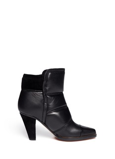 CHLOÉ Padded leather ankle boots