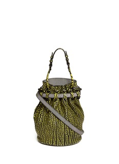 ALEXANDER WANG  'Diego' brush leather bucket bag