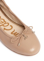 'Felicia' leather ballet flats