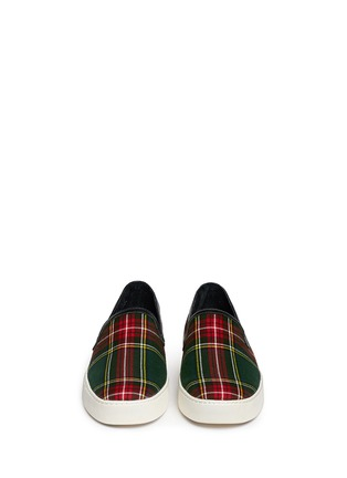 Figure View - Click To Enlarge - Sam Edelman - 'Becker' tartan print skate slip-on