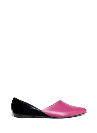 PIERRE HARDY - Colourblock asymmetric flats