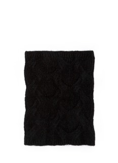 ANN DEMEULEMEESTER'Collar Utopia' cable knit neck warmer