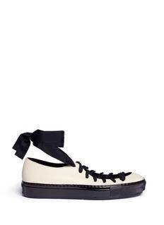 MarniLeather ballerina sneakers