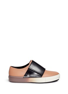 Marni Colourblock band leather sneakers