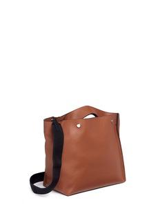Marni'Voile' leather shopper tote