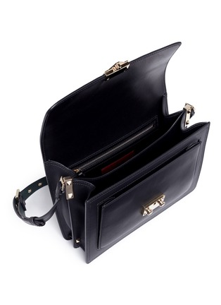 Detail View - Click To Enlarge - Valentino - 'Cabana' small leather top handle satchel