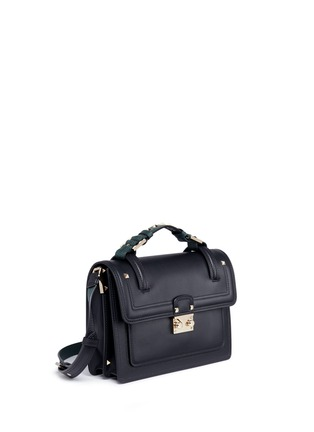 Figure View - Click To Enlarge - Valentino - 'Cabana' small leather top handle satchel