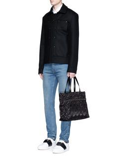 Valentino'Camustars' jacquard tote bag