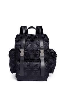 Valentino'Camustars' jacquard backpack
