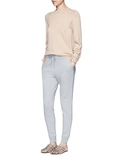 T By Alexander Wang Elastic cuff French terry sweatpants