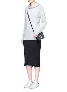T By Alexander WangRaglan sleeve wool-cashmere hoodie