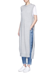 T By Alexander WangWool-cashmere knit dickie