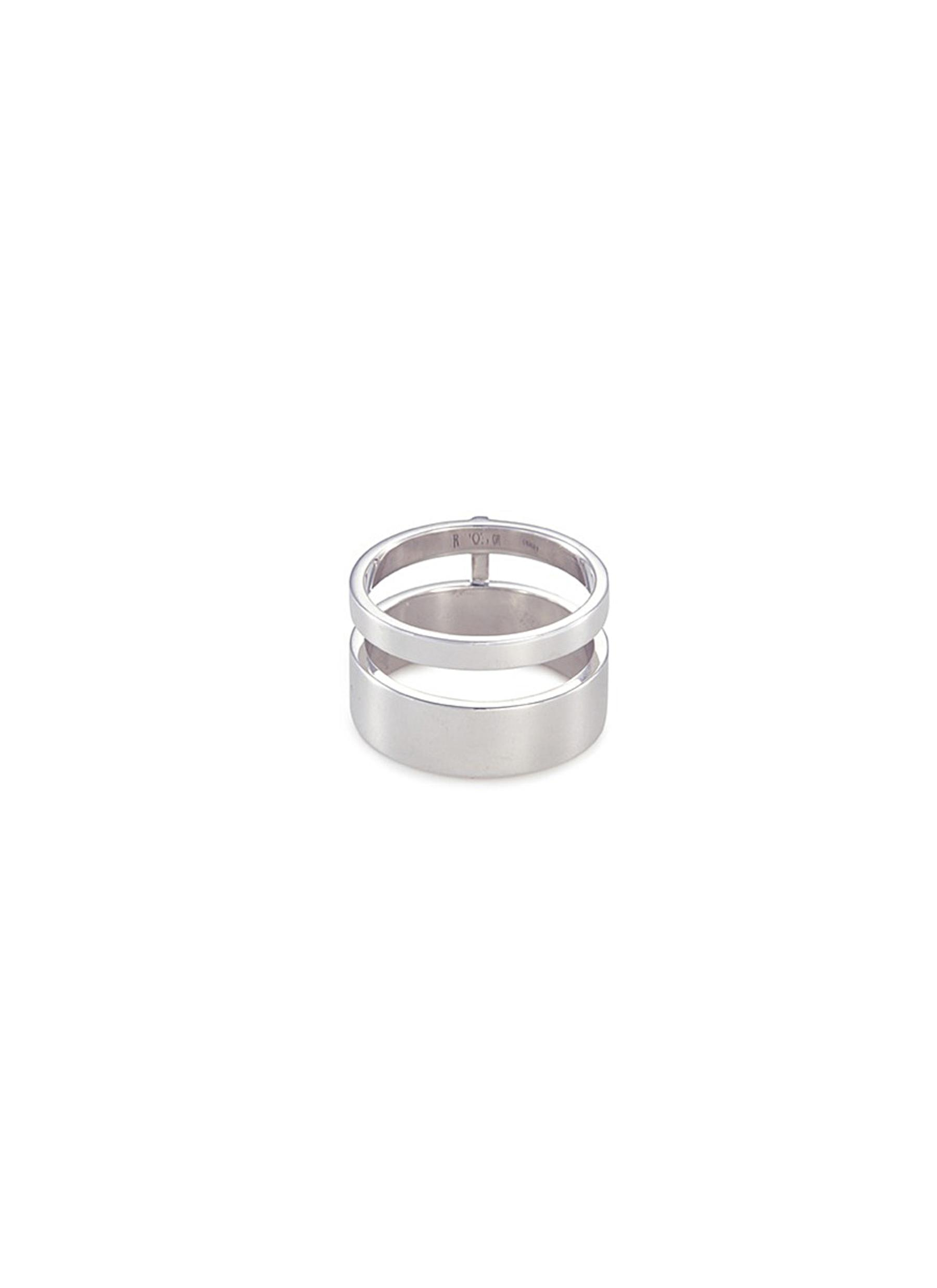 Repossi Berbère Two-Row Band Ring in 18K Gold dw0YB