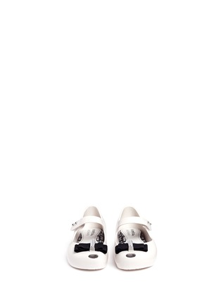 Figure View - Click To Enlarge - Melissa - x Jason Wu 'Ultragirl' bow toddler Mary Jane flats