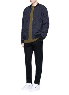 T By Alexander Wang Quilted bomber jacket